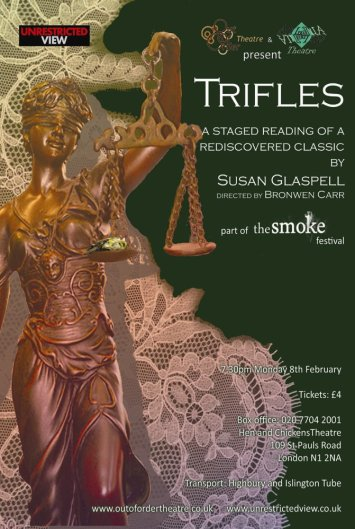 "Analysis of the Play ""Trifles"" by Susan Glaspell"